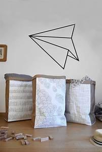 Sac Papier Kraft Deco : diy faire un sac de rangement en papier be frenchie ~ Dallasstarsshop.com Idées de Décoration