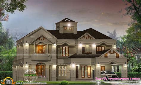 luxury villa design  kerala kerala home design  floor plans