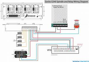 G540 Spindle And Relay Wiring Diagram  U2013 The Blog