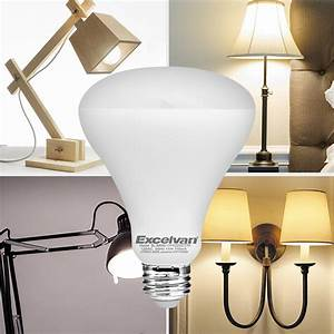 Dimmable br led w equivalent k warm white light