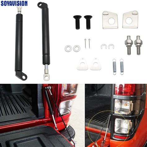 for ford ranger t6 year 2012 2016 rear tailgate easy up strut kit easy install no