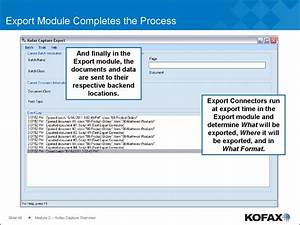 Module 2  Kofax Capture Overview