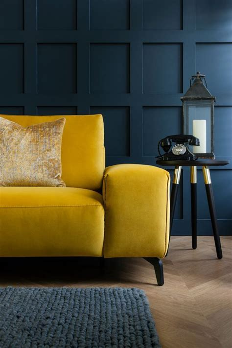 Living Room Yellow Sofa by The 25 Best Mustard Yellow Decor Ideas On