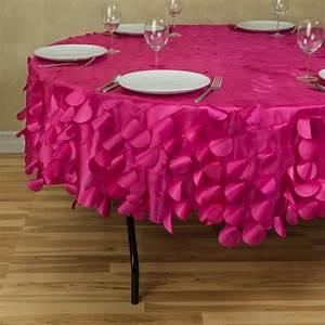 Nappe Toile Enduite : nappe table ronde conseils id es et exemples de d coration en 71 photos ~ Teatrodelosmanantiales.com Idées de Décoration