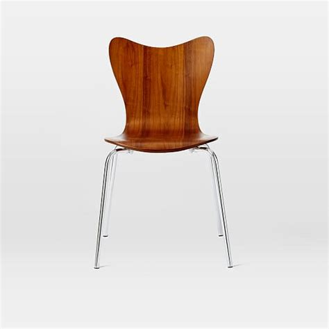 scoop back chair west elm