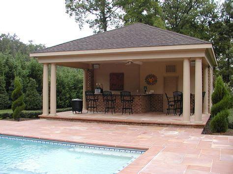 cabana pool house designs pool cabana w outdoor kitchen ideas on pinterest pool houses caba
