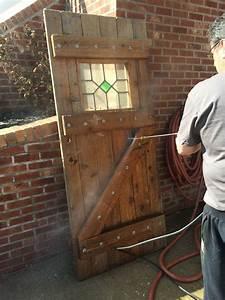 Cleaned, Old, Log, Cabin, Door, For, Front, Door