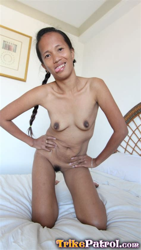 Wild and horny Filipina MILF enjoys foreign white dick