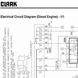 Clark Forklift Gts 20  25  30  33 D  L Service Manual