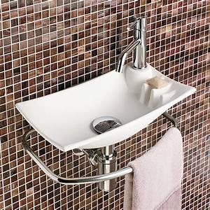 Lavabo Rectangulaire étroit : 9 mod les de lavabos pour la salle de bain trucs et ~ Edinachiropracticcenter.com Idées de Décoration