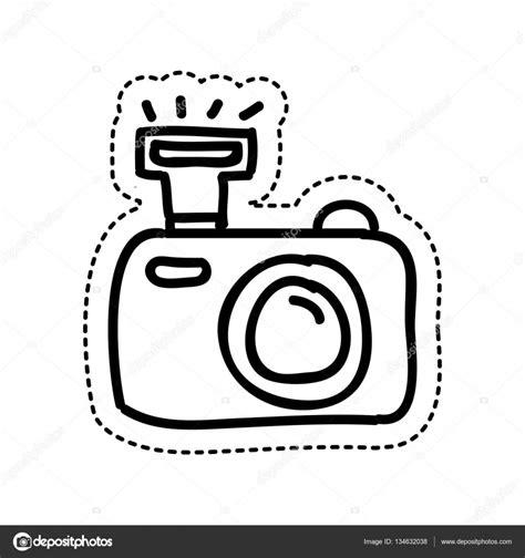 Kleurplaat Fotocamera by Icono De C 225 Mara Fotogr 225 Fica De Dibujo Archivo Im 225 Genes