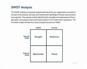 swot analysis case study example pdf proofreadingxweb With what is a swot analysis template