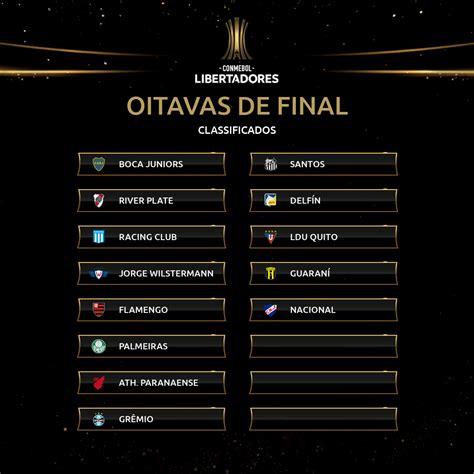 13 clubes já classificados às oitavas da Libertadores