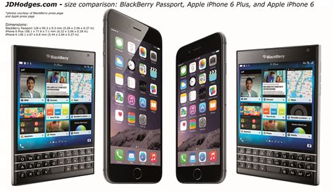 dimensions of iphone 6 blackberry passport iphone 6 plus and iphone 6 size