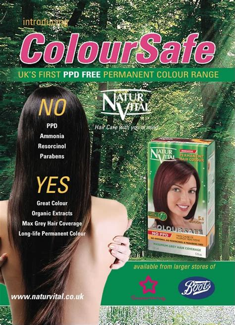 hair color without ppd ppd free coloursafe no 7 hair dye naturvital