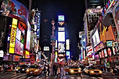 Square Times Broadway Nyc Manhattan York Nueva