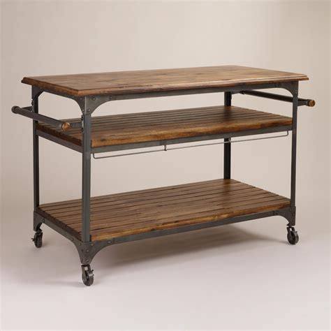 wood kitchen island cart wood and metal jackson kitchen cart kitchen carts