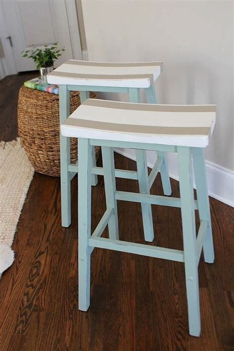 Diy Bar Furniture by Saddle Seat Bar Stools Best Diy Ideas
