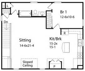 one bedroom house floor plans 1 bedroom house plans