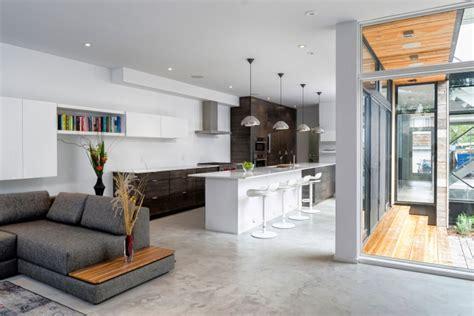 Offene Küche Wohnzimmer Modern by Einrichtungsideen F 252 R Wohnzimmer Mit Offener K 252 Che