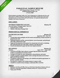 paralegal resume example examples of resumes With legal writing sample for paralegal