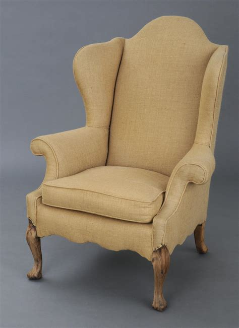 Wing Chair by 187 Product 187 Georgian Wing Chair