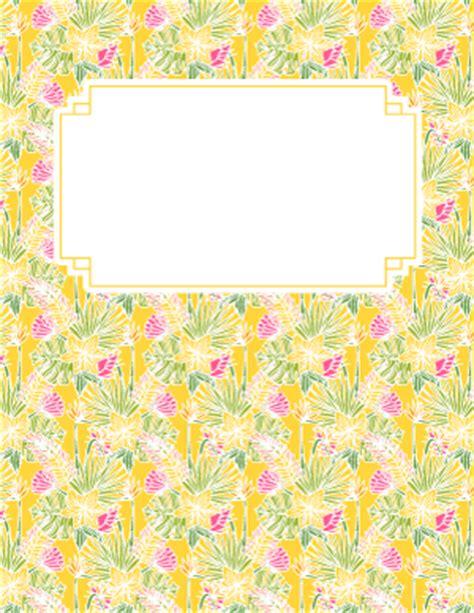 printable binder covers page