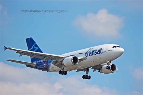 air transat toronto to c gfat air transat airbus a310 it s about travelling
