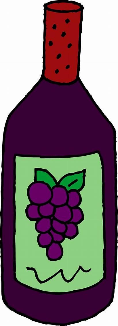 Wine Clip Clipart Bottle Clipartion