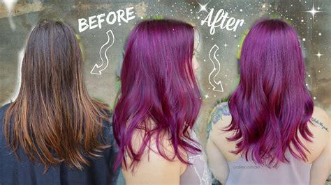 ideas  trendy magenta hair color hairstyles  women