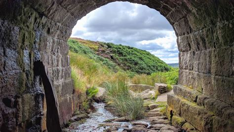 picture river rocks stone tunnel water arch