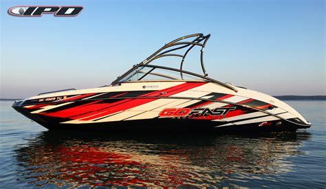 Custom Boat Graphics Pictures by Custom Designed Boat Graphics Kit 50 Deposit Ipd Jet