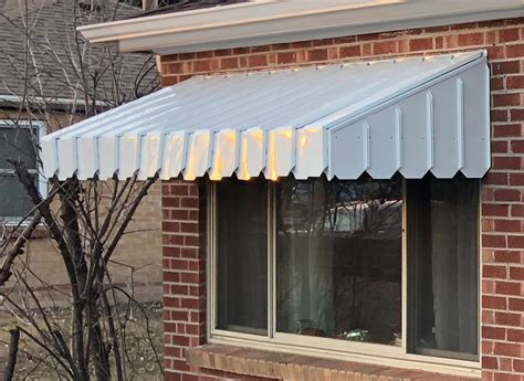 ac pan type window door awning
