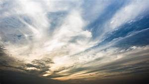 dramatic sky with cloud at stock footage 100