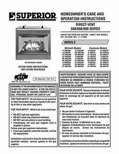 Superior Dr500 User U0026 39 S Manual