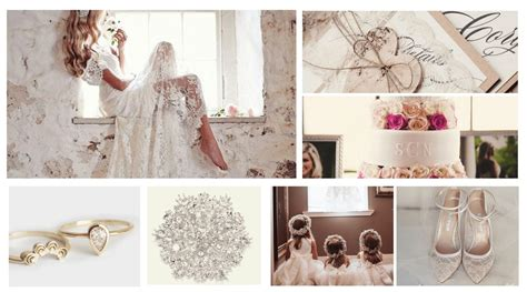 Lace Wedding Theme Inspiration Totally Dazzled