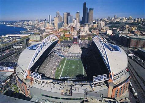 Centurylink Field. Capacity 67,000. ------october 14, 2002 White Kitchen Cabinets With Marble Countertops Different Types Of Hardwood Flooring In Miami Backsplash Tiles Ottawa For Commercial Catering Floor Plan Living Room And Open