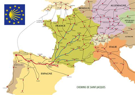 camino maps how is the camino de santiago