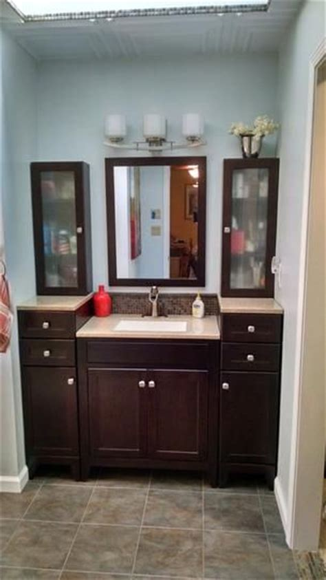 Glacier Bay Bathroom Cabinets Java by Home And The O Jays On