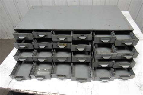 drawer industrial metal small parts bin cabinet