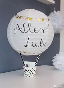 Geldgeschenke Verpacken Hochzeit : diy geschenkidee zur hochzeit hei luftballon geldgeschenk basteln diy lisa urs pinterest ~ Eleganceandgraceweddings.com Haus und Dekorationen