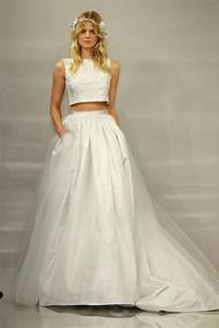 gorgeous crop top wedding dress inspiration bridal musings With wedding dress tops