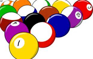 Free Clip Art Pool Billiards