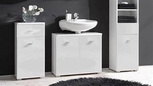 Badezimmer Unterschrank Hochglanz : kommode barolo badezimmer 1 t rig wei hochglanz bad unterschrank ~ Markanthonyermac.com Haus und Dekorationen