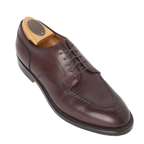 split toe blucherbrown calfskin968 alden shoes avenue new york