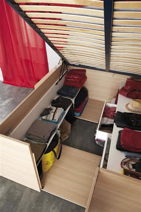 Bett Mit Aufbewahrung by These Bed Closet Combinations Are A Design Option For