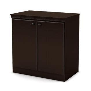 south shore storage cabinet chocolate finish home storage organization closet