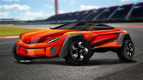 suv lamborghini 2017 lamborghini suv concept speed drawing youtube