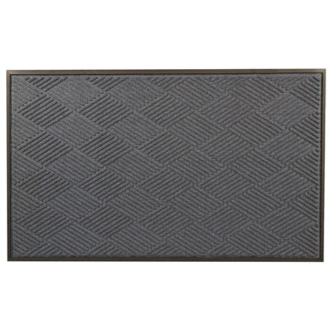 Entrance Rugs Rubber Backing by Notrax Opus Blue 36 In X 48 In Rubber Backed Entrance