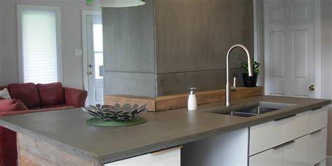 comptoir pour cuisine comptoirs en b 233 ton pour cuisine ou salle de bain